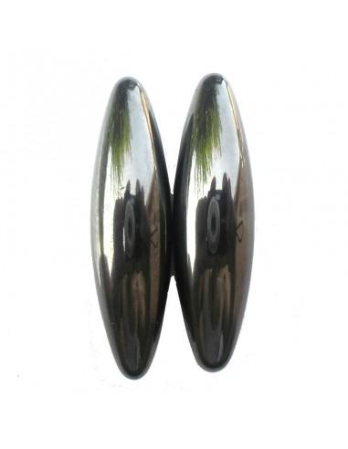 2 Bâtons Hématite Magnétique G.